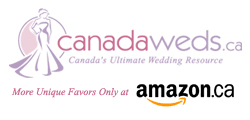 CanadaWeds Wedding Favors at Amazon Canada