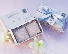 Scented Bath Soap Favors - Stamped with Love