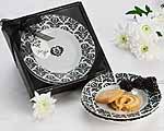 Unique Wedding Favors - Damask Party Dish