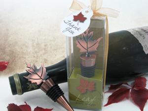 Bronze Elegance - Fall Bottle Stopper Favor