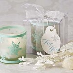 """Winter Lights"" Tea Light Candle Favours"