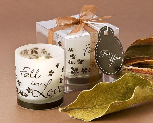 Fall Tea Light Candle Holder