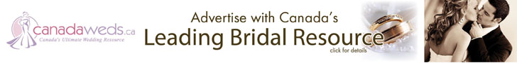 Advertise on Canada Weds to Reach Thousands of Brides