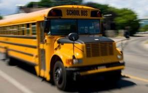 School Bus for Weddings